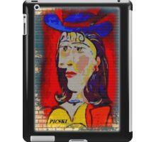 picasso graffiti # 2 iPad Case/Skin