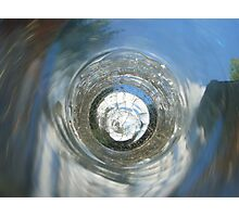 Landscape in Glass Photographic Print