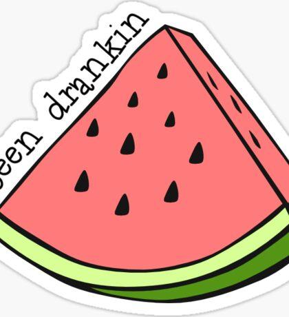 Drankin Watermelon Sticker