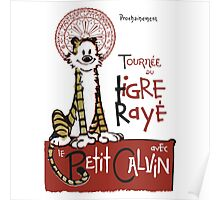 Tigre Raye Shirt Poster