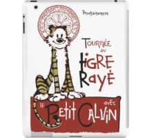 Tigre Raye Shirt iPad Case/Skin