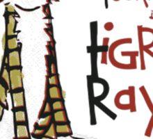 Tigre Raye Shirt Sticker