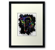 Be Color Unto The World Framed Print