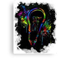 Be Color Unto The World Canvas Print