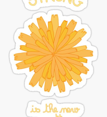 Strong is the New Pretty - Dandelion Sticker