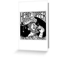 HEADY TOPPER Shirt Greeting Card