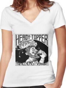 HEADY TOPPER Shirt Women's Fitted V-Neck T-Shirt