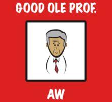 "Arsenal's Arsene Wenger: ""GOOD OLE PROF."" Kids Tee"