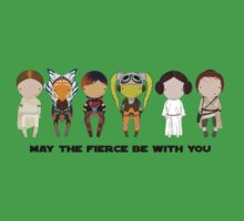 May the FIERCE be with you One Piece - Short Sleeve