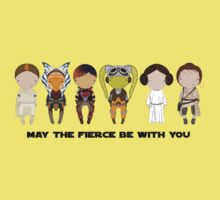 May the FIERCE be with you Baby Tee