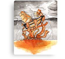 Bacon Kraken Canvas Print