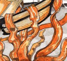 Bacon Kraken Sticker
