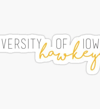 University of Iowa Hawkeyes Sticker