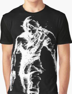 Stylized Legend of Zelda Link Graphic T-Shirt
