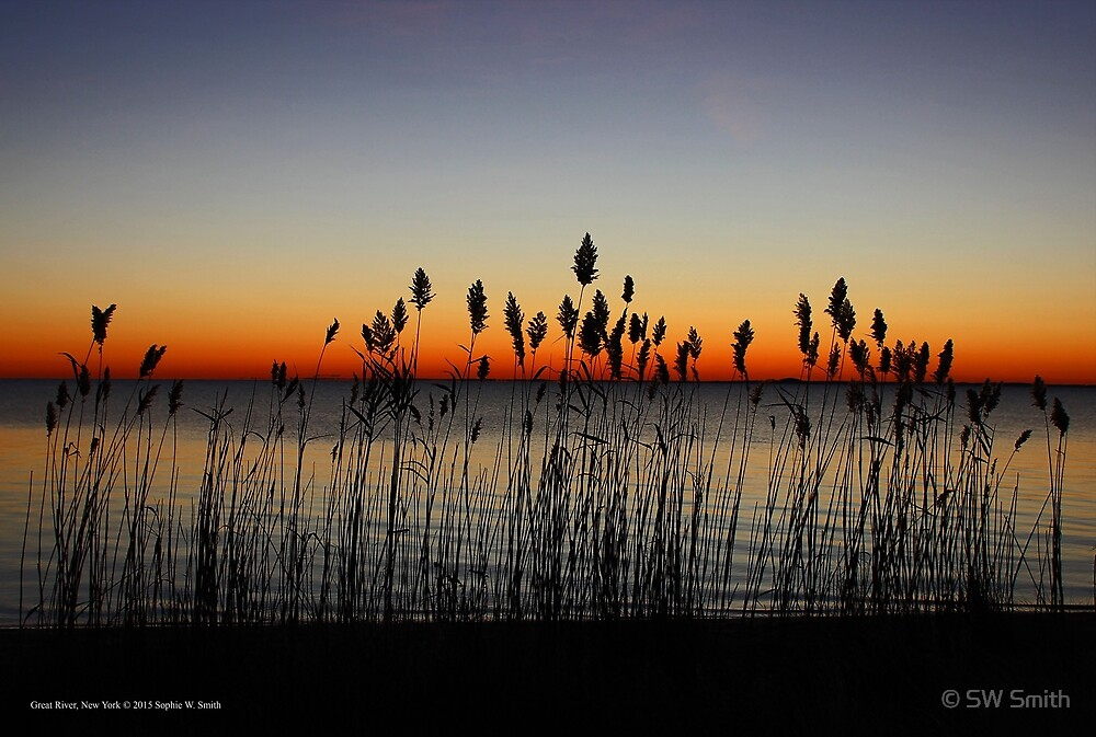 Waiting For Sunrise | Great River, New York by © Sophie W. Smith