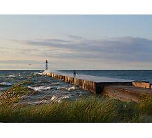 lighthouse lake  Photographic Print