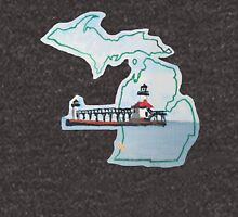 Michigan Pride Lighthouse Unisex T-Shirt