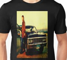 supernatural tv dean baby impala fan art Unisex T-Shirt