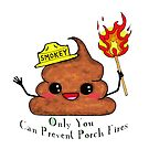 Smokey the Poop by Michowl