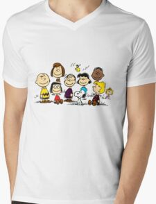 All Peanuts Together Mens V-Neck T-Shirt