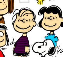 All Peanuts Together Sticker
