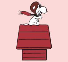 Aviator Snoopy One Piece - Short Sleeve
