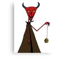Devil Games Canvas Print