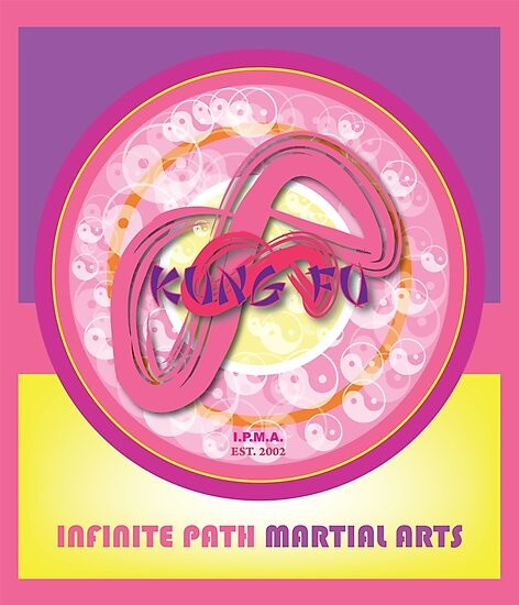 Infinite Path Martial Arts - Mandala - Pink by Infinite Path  Creations