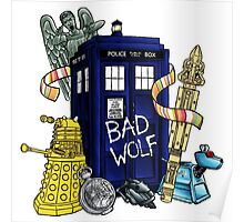 Bad Wolf Box Poster