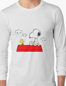 Snoopy & Woodstock Long Sleeve T-Shirt