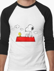 Snoopy & Woodstock Men's Baseball ¾ T-Shirt