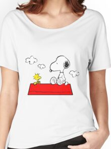 Snoopy & Woodstock Women's Relaxed Fit T-Shirt