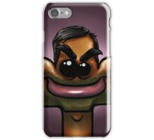 Aziz / Tom Square-icature iPhone Case/Skin
