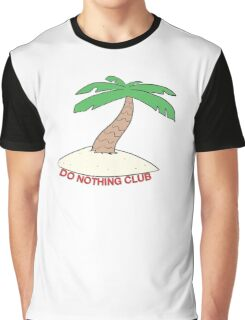 DO NOTHING CLUB Graphic T-Shirt