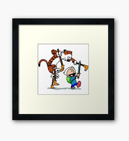 Space Man Spiff Framed Print