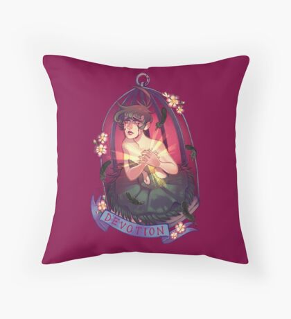 Rue : Devotion Throw Pillow