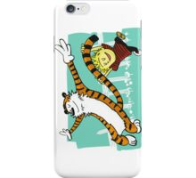 Calvin and Hobbes Dancing iPhone Case/Skin