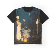 Fullmetal Alchemist Brotherhood Anime Graphic T-Shirt