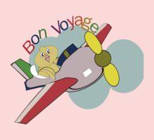 jet- Bon Voyage (6280 Views) Kids Tee