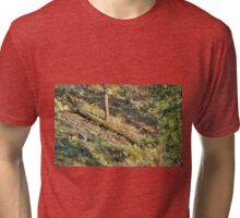 Tree Down Hillside Tri-blend T-Shirt