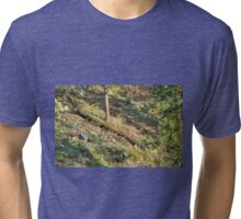 Tree Down Hillside Tri-blend T-Shirt