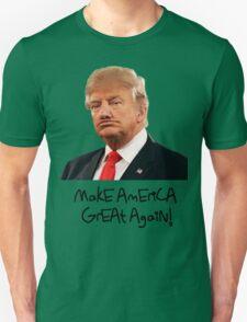 Donald Trump Derp Meme ''Make America Great Again!'' Unisex T-Shirt