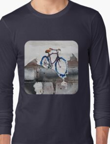 Paper Bicycle Long Sleeve T-Shirt