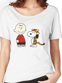 Peanuts Meets Women's Relaxed Fit T-Shirt