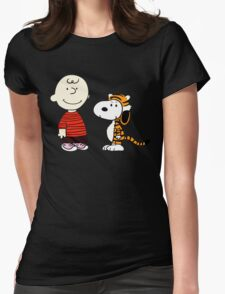 Peanuts Meets Womens Fitted T-Shirt