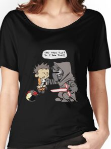Beautiful Calvin And Hobbes Women's Relaxed Fit T-Shirt