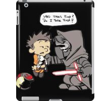 Beautiful Calvin And Hobbes iPad Case/Skin