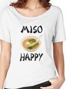 Miso Happy Women's Relaxed Fit T-Shirt