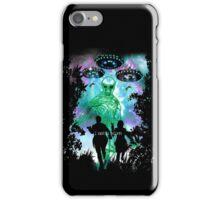 The X-Files Alien Invasion iPhone Case/Skin
