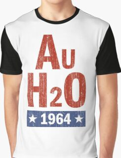 Barry Goldwater AuH2O 1964 Presidential Campaign Graphic T-Shirt